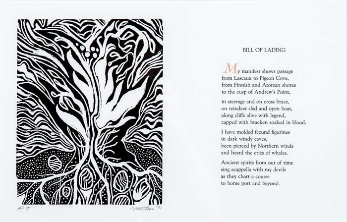 """Bill of Lading, 1 in a series 