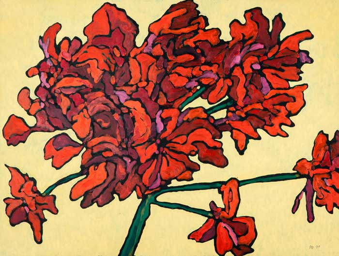 """Red Flowers 